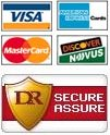 We except many forms of payment and each payment is secure!